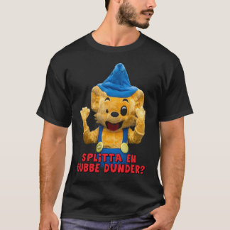 En gubbe dunder - Mönster fram T Shirt