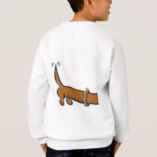 En gullig tax som ha på sig renhorn på kronhjort t shirts
