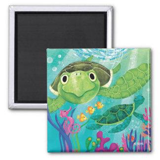 En havssköldpaddarädding