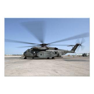 En helikopter för MH--53Ehavsdrake Fototryck