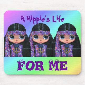 En hippies liv för mig Mousepad Musmatta