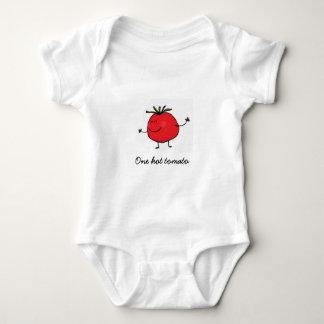 En hoad tomatbabyBodysuit Tshirts