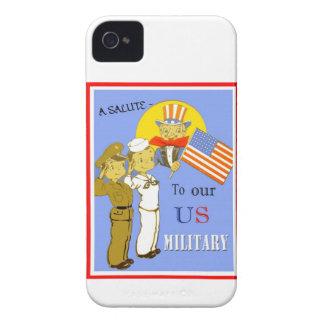 En honnör till vårt militära blackberry boldfodral Case-Mate iPhone 4 skal
