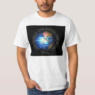en jord för värld en ett hem, en värld en gå i ax… tröjor