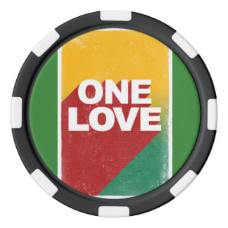 En kärlekrasta poker marker