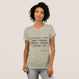en kärlekutslagsplats t-shirt