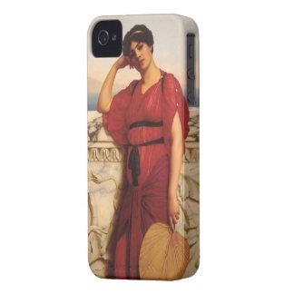 En klassisk dammålning iPhone 4 Case-Mate skal
