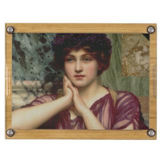 En klassiska Skönhet, 1901 (olja på kanfas) Rund Ostfat