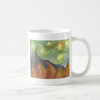 en klottra kaffemugg