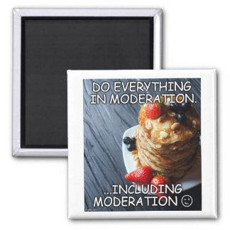 En kökmagnet med humor & vishet magnet