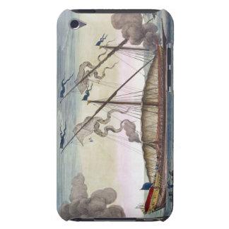 En kunglig galär (spanjor eller portugisen) rodde iPod touch Case-Mate fodral