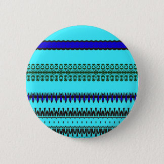 En lafunktionslägeblått standard knapp rund 5.7 cm