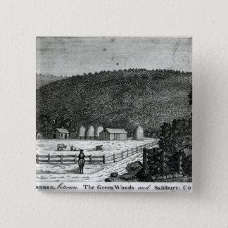 En lantgård i Kanaan, Connecticut Standard Kanpp Fyrkantig 5.1 Cm
