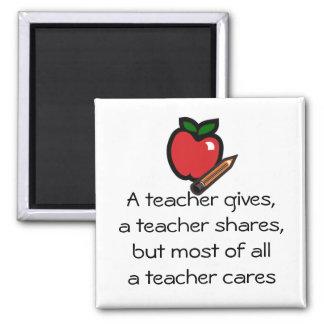En lärare omsorg-Skräddarsy det Magnet