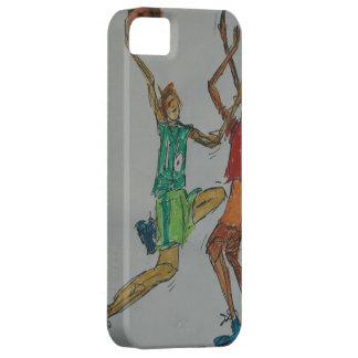 en lek av hästen barely there iPhone 5 fodral