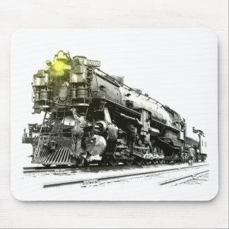 En lokomotiv för ånga 9000 musmatta