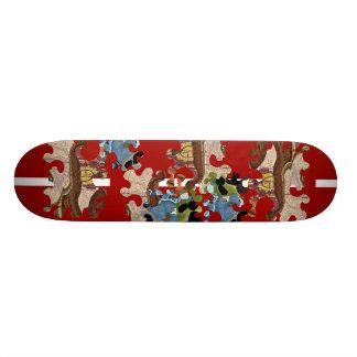 """""""En lös älghar """", Anpassad Skate Board"""
