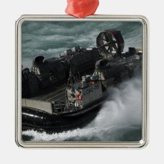 En luft för hantverk för US-marinlandning dämpar Julgransprydnad Metall