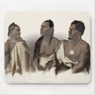 En Missouri indier, en Oto indier och chefen av Musmatta