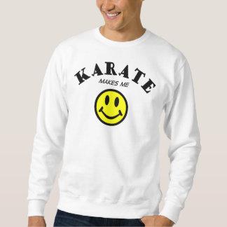 EN MM: Karate Lång Ärmad Tröja