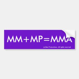 EN MM+MP=MMA BILDEKAL