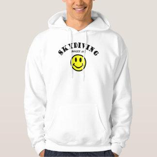 EN MM: Skydiving Sweatshirt Med Luva