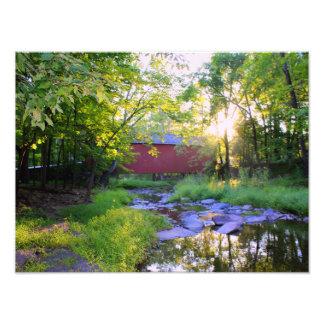En morgon i Pipersville Fototryck