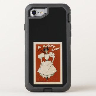En munterhetflicka OtterBox defender iPhone 7 skal