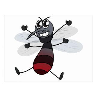 En mygga vykort