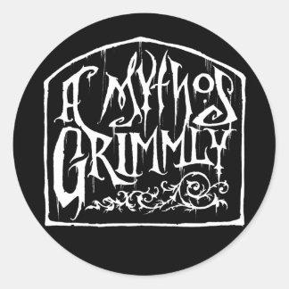 En Mythos Grimmly klistermärke