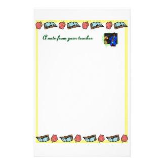 En notera från din lärare 3 brevpapper
