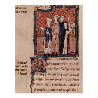 En nunna som tar henne vows och, samlas vykort
