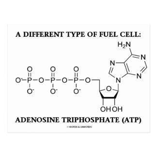 En olik typ av tankar cellen (ATP) Vykort