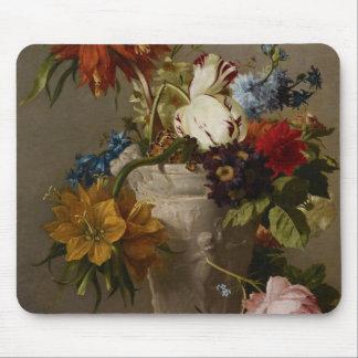 En ordning med blommor, 19th århundrade musmatta
