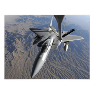 En örn för US-flygvapen F-15 Fototryck
