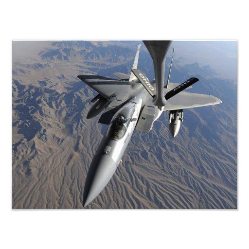 En örn för US-flygvapen F-15 Fotografi