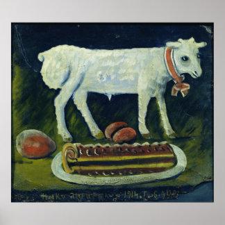 En påsk- lamb, 1914 poster
