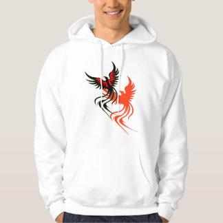 En Phoenixs skuggar hoodien Tröja Med Luva