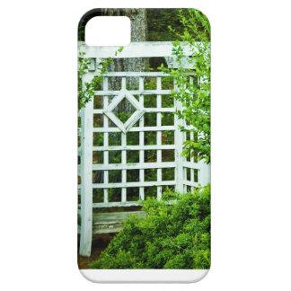 En placera i trädgården iPhone 5 cover