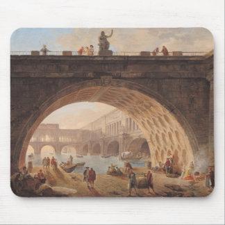 En port, c.1760 musmatta