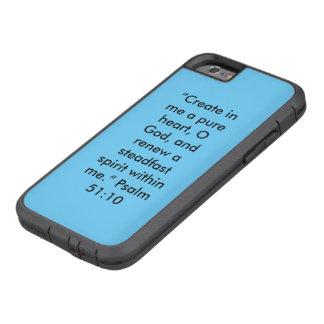 """""""En ren Phon för cell för hjärta"""" Iphone 6/6S tuff Tough Xtreme iPhone 6 Fodral"""