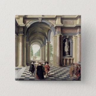 En renaissance Hall Standard Kanpp Fyrkantig 5.1 Cm