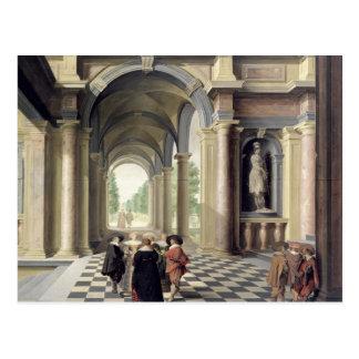 En renaissance Hall Vykort