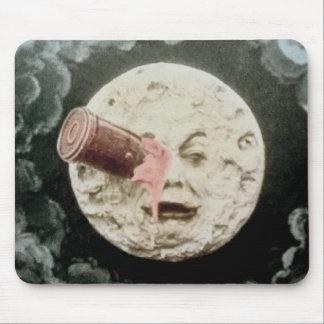 En resa till månen musmatta