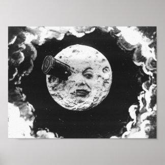En resa till månen poster