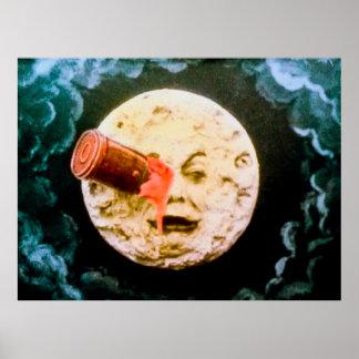 En resa till månevintagen poster
