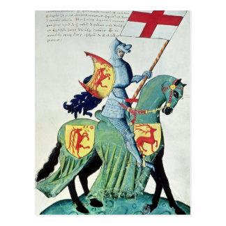 En riddare som bär ärmar av Verona Vykort