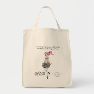 En shopping bag för din inre Upcycling Princess Mat Tygkasse
