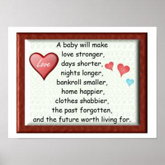En ska bebis… affischer