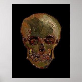En skalle av Vincent Van Gogh Poster